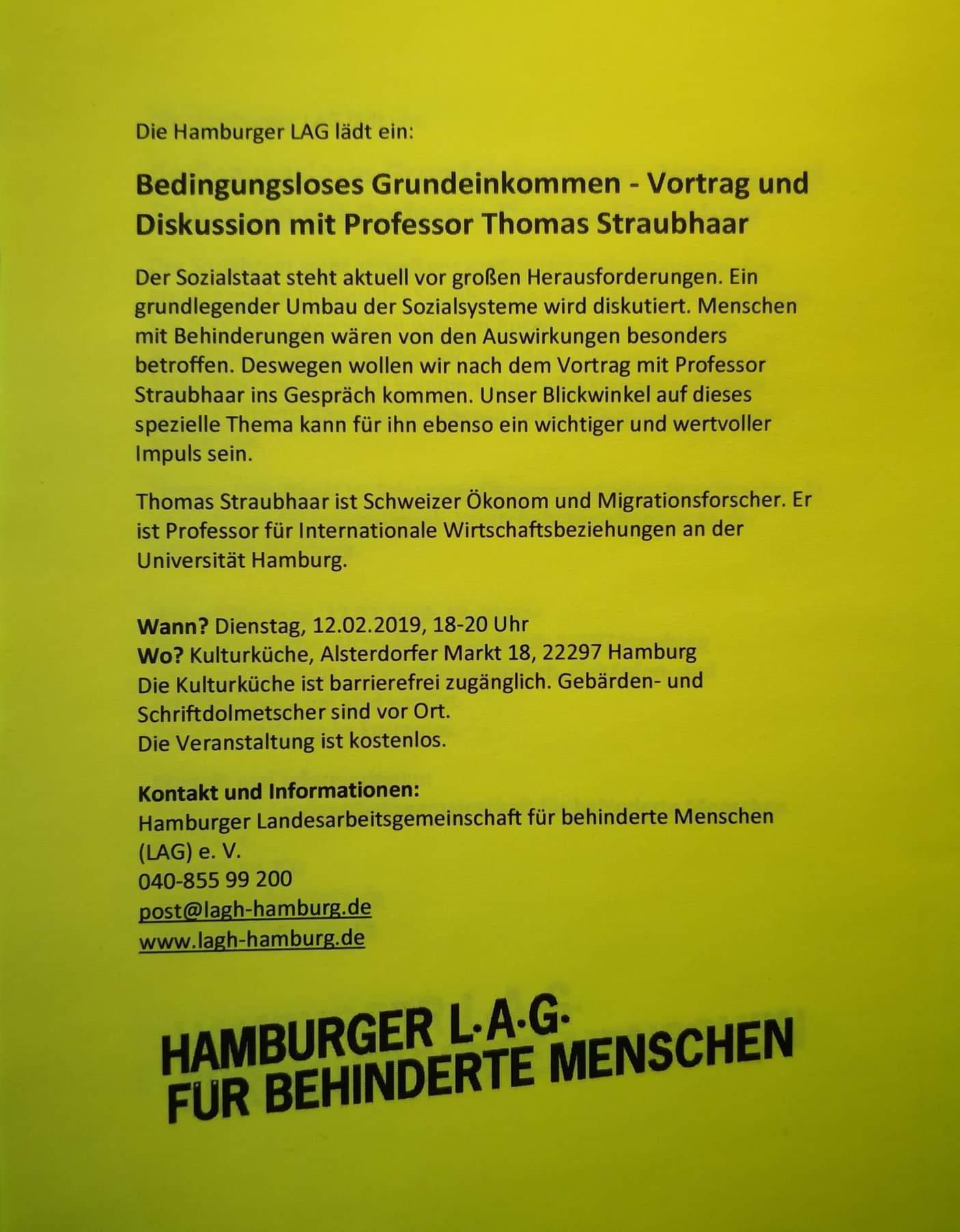 Termin Hamburg