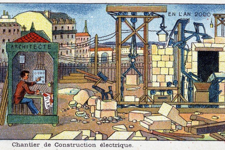 So stellte man sich im 19. Jahrhundert Arbeit im Jahr 2000 vor