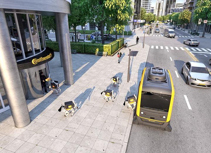 Paket Roboterhunde