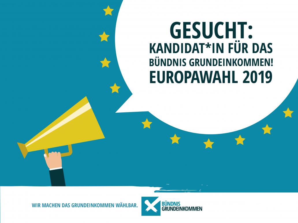 Bündnis Grundeinkommen Europawahl